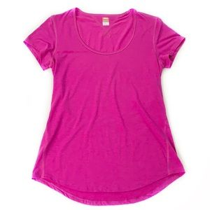 Lucy • Pink Athletic Tee